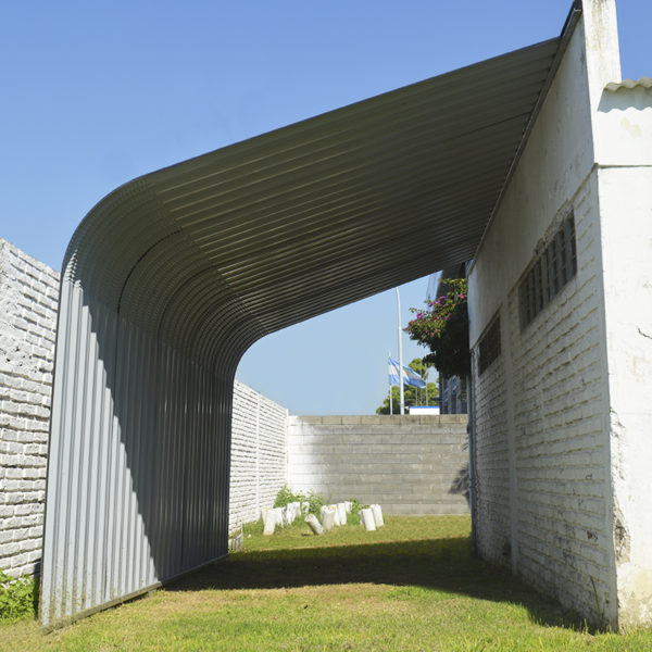 Semi Garage